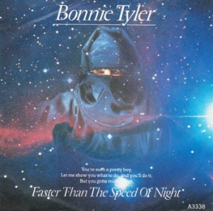 Bonnie Tyler Faster than the Speed of Night single