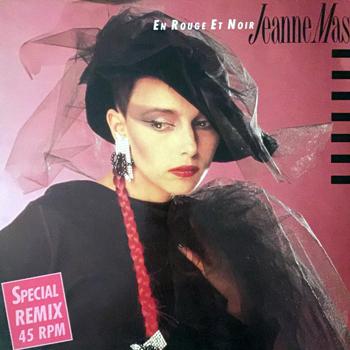 Jeanne Mas En rouge et noir