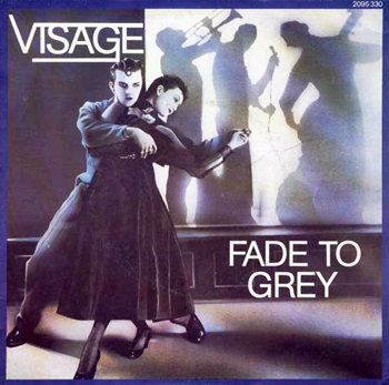 Visage Fade To Grey 45 tours français Pop Music Deluxe