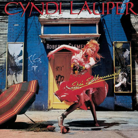 Cyndi Lauper She's So Unusual Pop Music Deluxe