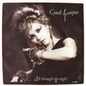 Cyndi Lauper All Through The Night Pop Music Deluxe