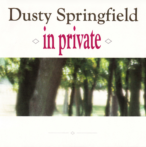 dusty springfield in private pop music deluxe