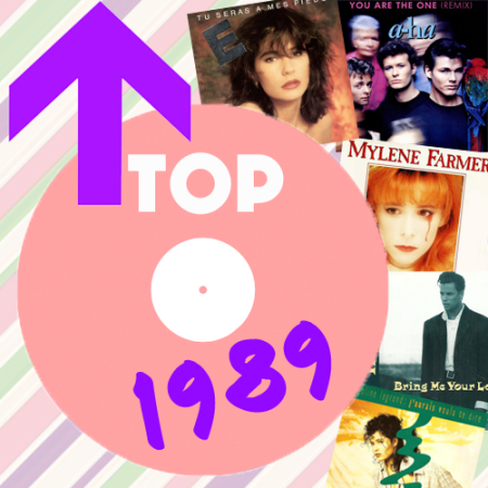 Top 50 avril 1989 Pop Music Deluxe