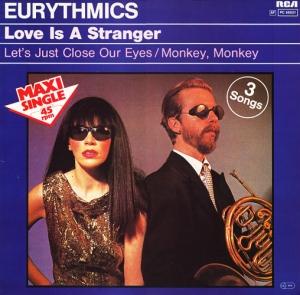 Eurythmics Love is a Stranger maxi