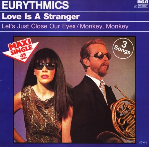 Eurythmics Love is a Stranger maxi