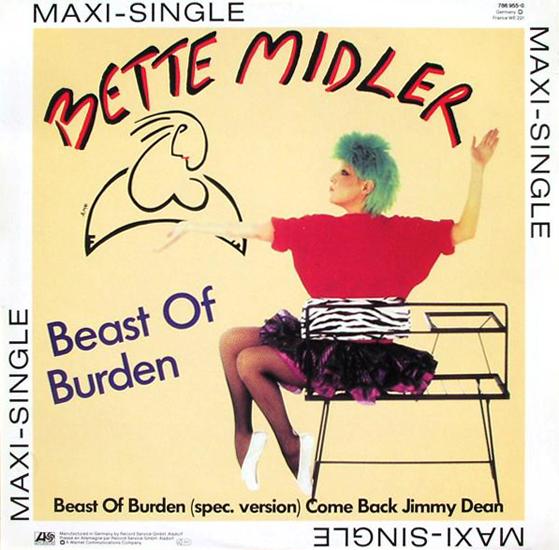 Bette Midler Beast of Burden maxi Pop Music Deluxe