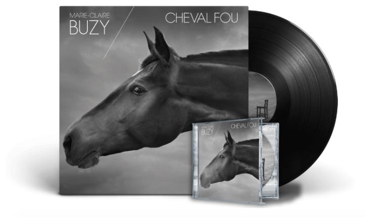 Buzy Cheval fou vinyle