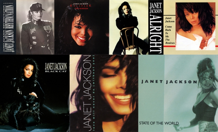 Janet Jackson - Rhythm Nation singles Pop Music Deluxe