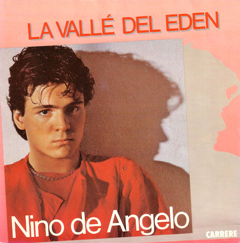Nino de Angelo valle del Eden 45 tours