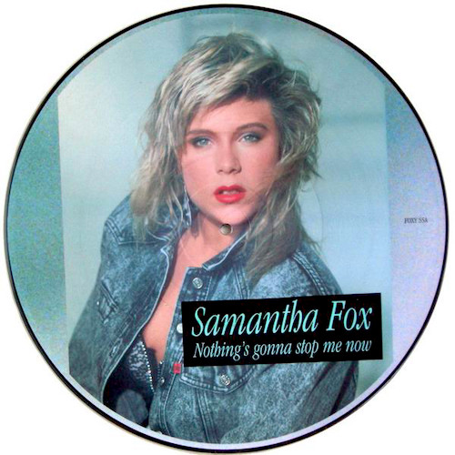Samantha Fox Nothing's Gonna picture disc Pop music Deluxe
