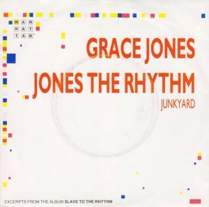 Grace Jones Jones The Rhythm Pop Music Deluxe