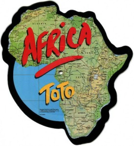 Toto Africa 7 picture Pop Music Deluxe
