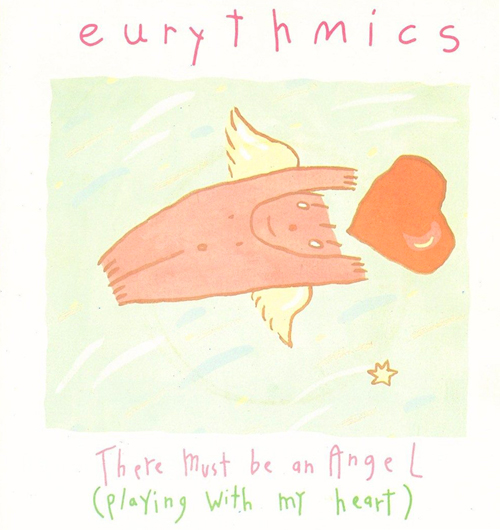 Eurythmics-There-Must-Be-An-Angel Pop Music Deluxe