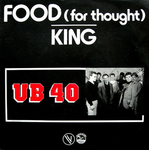 UB40 Food For Thought Pop Music Deluxe