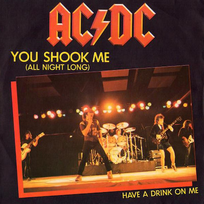 AC DC You Shook Me All Night Long Pop Music Deluxe