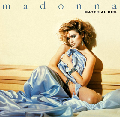 Madonna Material Girl Pop Music Deluxe