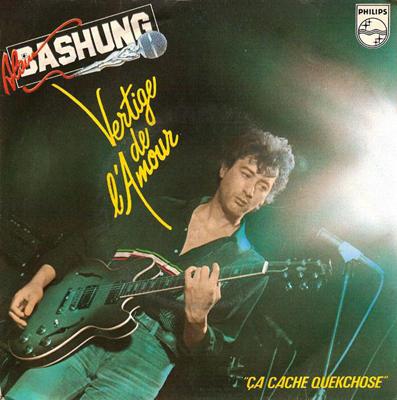 Alain Bashung Vertige de l'amour Pop Music Deluxe