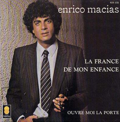 Enrico Macias La France de mon enfance Pop Music Deluxe
