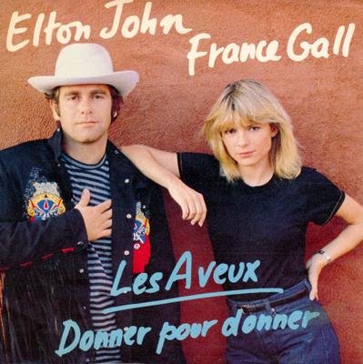 France Gall Elton John Donner pour donner Pop Music Deluxe