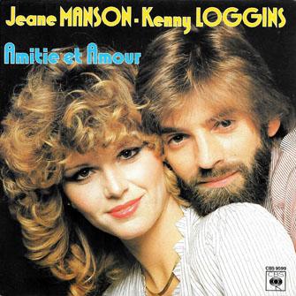 Jeane Manson Kenny Loggins Amitié et Amour Pop Music Deluxe