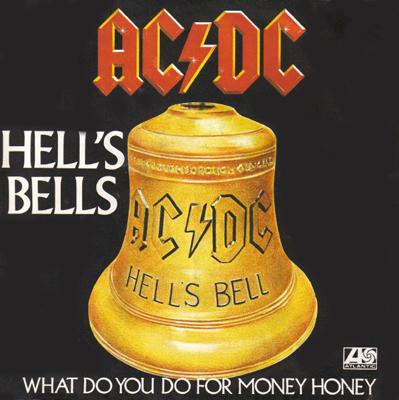 AC DC Hell's Bells Pop Music Deluxe