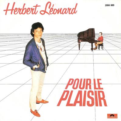 Herbert Léonard Pour le plaisir Pop Music Deluxe